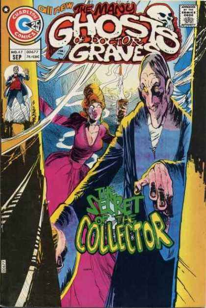 Many Ghosts of Dr. Graves 47 - The Secret Collector - Lady In Bun - Knobby Hands - Skull - All New - Joe Staton