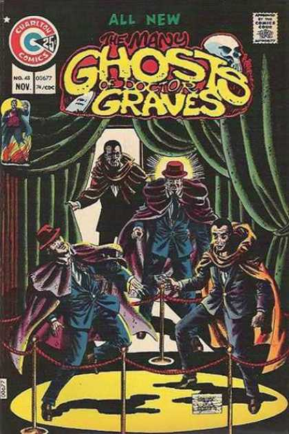 Many Ghosts of Dr. Graves 48 - Ghost - Creepy - Museum - Exposition - Skull