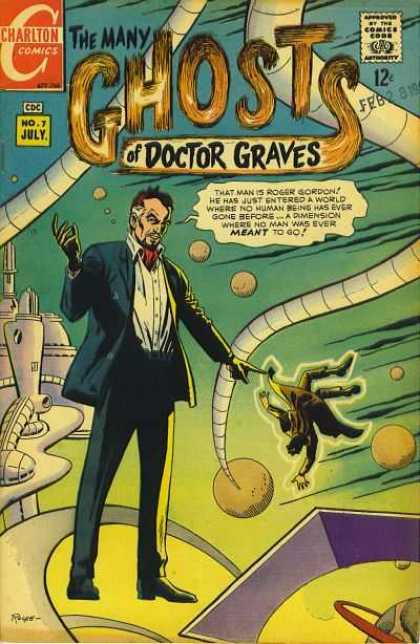 Many Ghosts of Dr. Graves 7 - Rocco Mastroserio