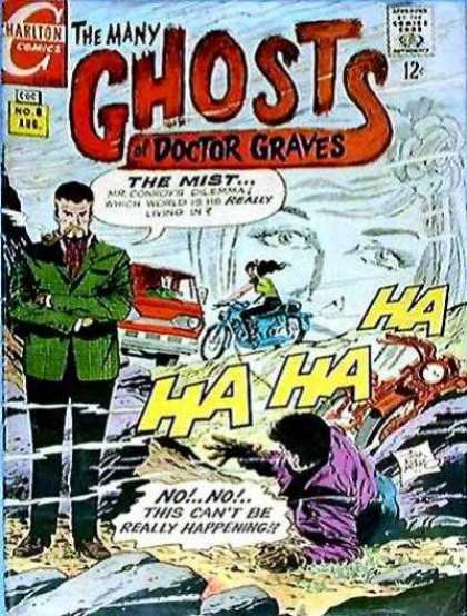 Many Ghosts of Dr. Graves 8 - Jim Aparo