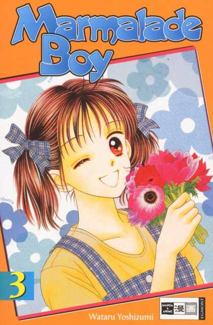 Marmalade Boy 3 - Straight Hair - Flowers - Little Girl - Clothes - Ribbons