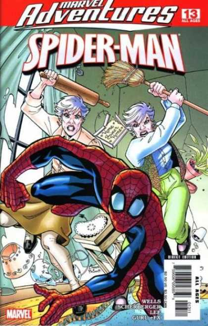 Marvel Adventures Spider-Man 13 - Spider-man - Spiderman - 13 - All Ages - Broom - Amanda Conner, Jimmy Palmiotti