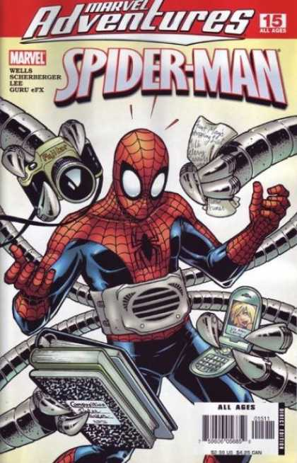 Marvel Adventures Spider-Man 15 - Dr Octopus - Spidy - Camera - Cell Phone - Books - Amanda Conner