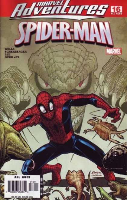 Marvel Adventures Spider-Man 16 - Camelion - Lizard - All Ages - Marvel - Lee - Amanda Conner, Christina Strain