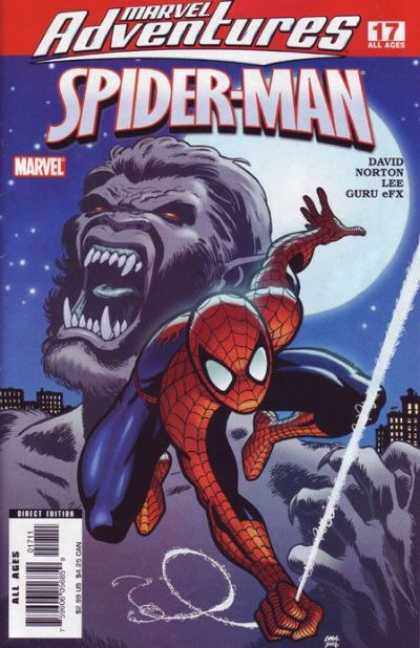 Marvel Adventures Spider-Man 17 - Werewolf - Marvel - David - Lee - Norton - Cameron Stewart