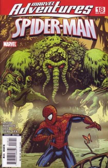 Marvel Adventures Spider-Man 18 - David - Norton - Lee - Guru - Butterfly - Cameron Stewart