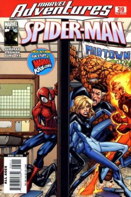 Marvel Adventures Spider-Man 39