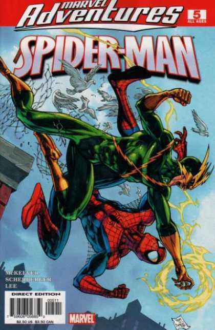 Marvel Adventures Spider-Man 5 - Doves - Electro - Marvel Adventures - Lee - Spider-man