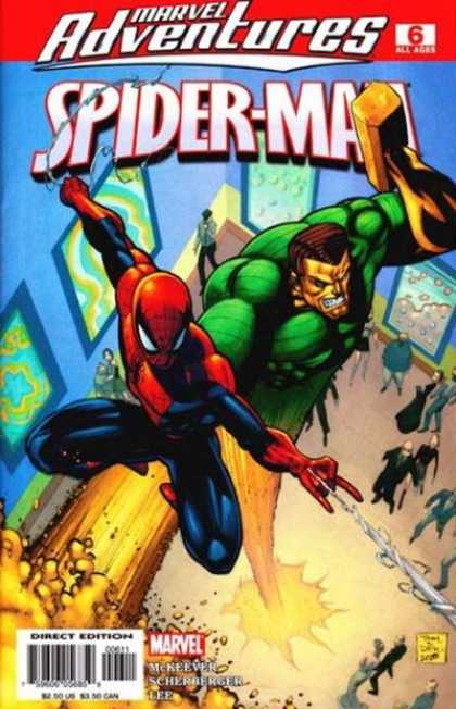Marvel Adventures Spider-Man 6 - Spidey - Sandman - Mallet - Team Up - Museum