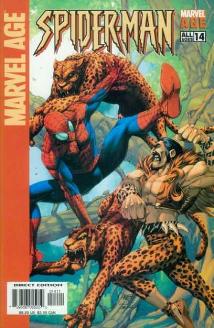Marvel Age Spider-Man 14