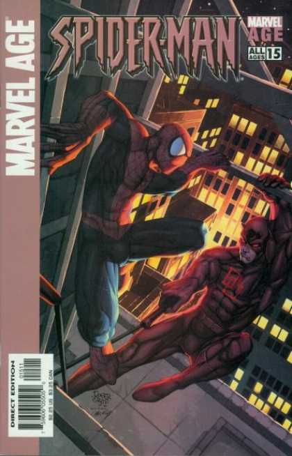 Marvel Age Spider-Man 15 - Spiderman - Marvel Age - Building - Direct Edition - All Ages