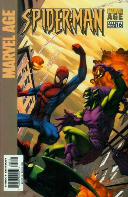 Marvel Age Spider-Man 16