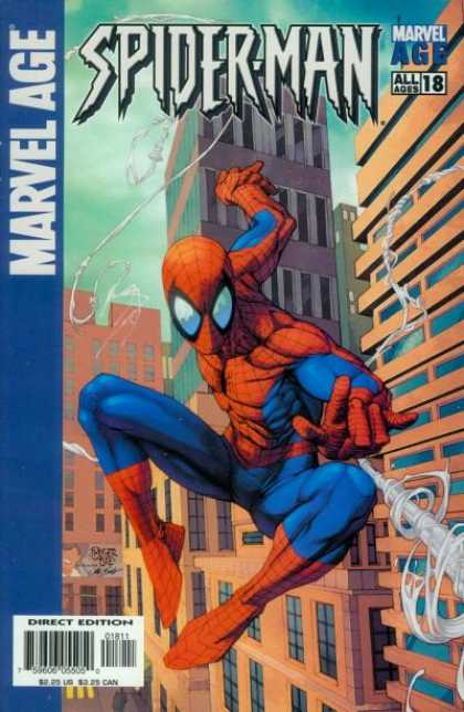 Marvel Age Spider-Man 18