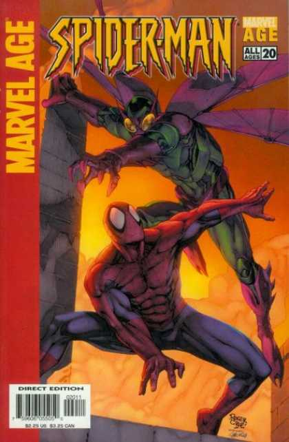 Marvel Age Spider-Man 20