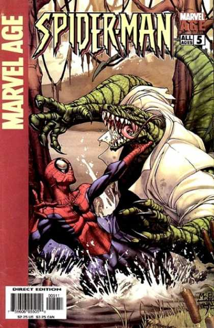 Marvel Age Spider-Man 5