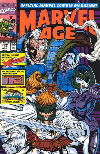 Marvel Age 102 - Rob Liefeld