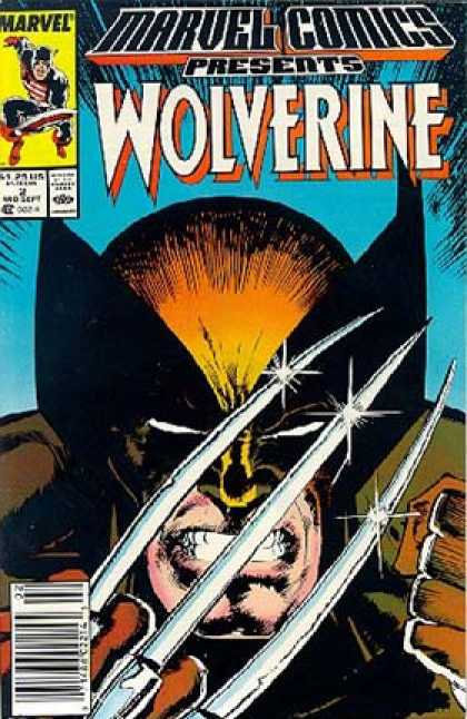 Marvel Comics Presents 2 - Wolverine - Angry - Mad - Blades - Knives - Klaus Janson, Stuart Immonen