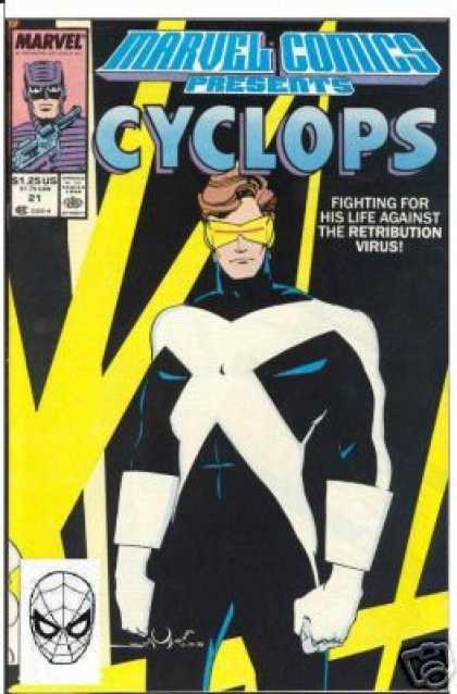 Marvel Comics Presents 21 - Cyclops - Camera - Spider-man - Gun - Lasers - Walter Simonson