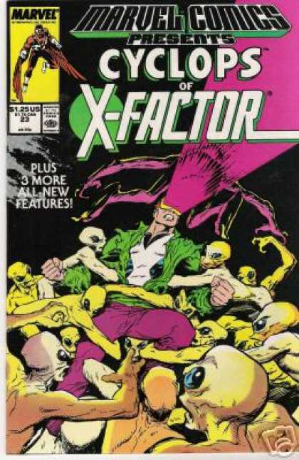 Marvel Comics Presents 23 - Marvel - Battle - Aliens - Plus 3 More All New Features - Cyclops Of X-factor - Bret Blevins
