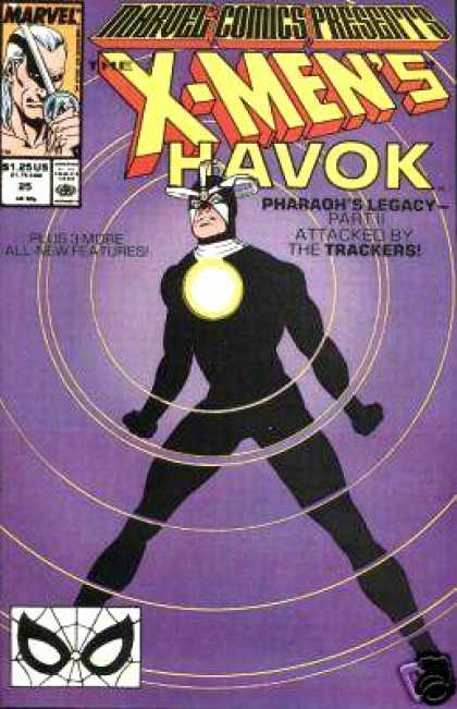 Marvel Comics Presents 25 - Havok - Trackers - Pharoahs Legacy - Part Ii - Black Outfit - Josef Rubinstein, Kevin Maguire