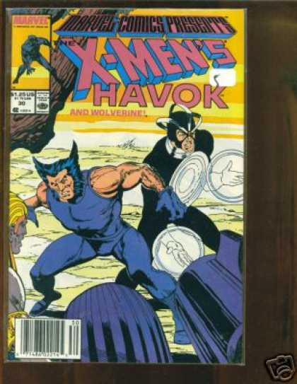 Marvel Comics Presents 30 - Havok - Wolverine - Comics Code - Mutant - Gun