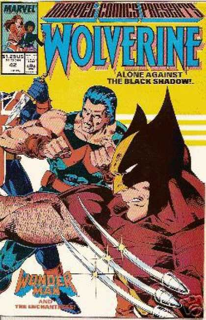 Marvel Comics Presents 42 - Wolverine - Marvel - Mutant - Superhero - Wonder Man - Bob Layton