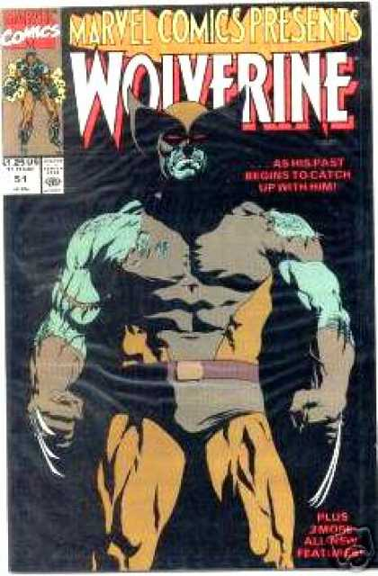 Marvel Comics Presents 51 - Wolverine - 125 Us - Approved By The Comics Code Authority - Belt - Catch - Paul Gulacy