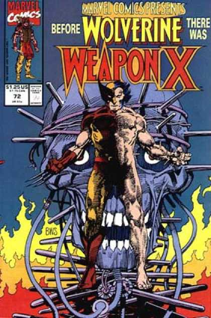 Marvel Comics Presents 72 - Before Wolverine - Skull - Fire - Weapon - Bound - Barry Windsor-Smith