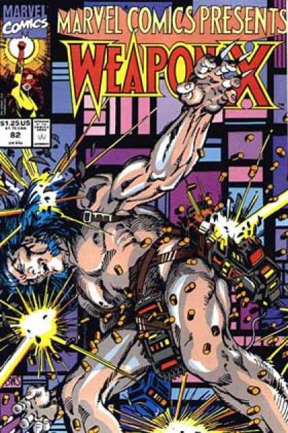 Marvel Comics Presents 82 - Strong And Muscular - Under Attack - Deadly Nails - Lasers - In Pain - Barry Windsor-Smith, Erik Larsen