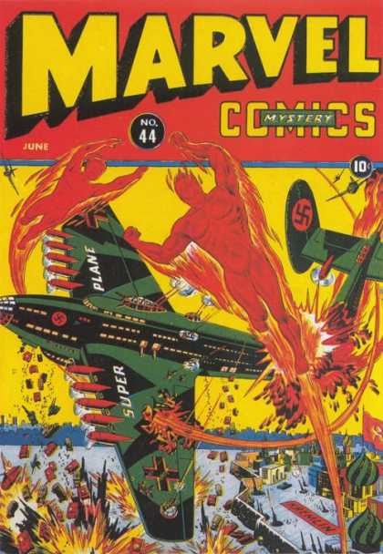 Marvel Comics 44 - Mystery - 44 - June - Super Plane - Nazi