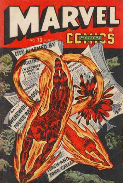 Marvel Comics 73