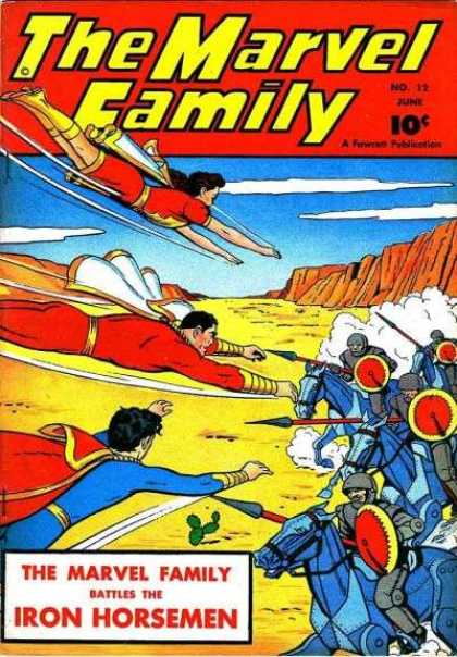 Marvel Family 12