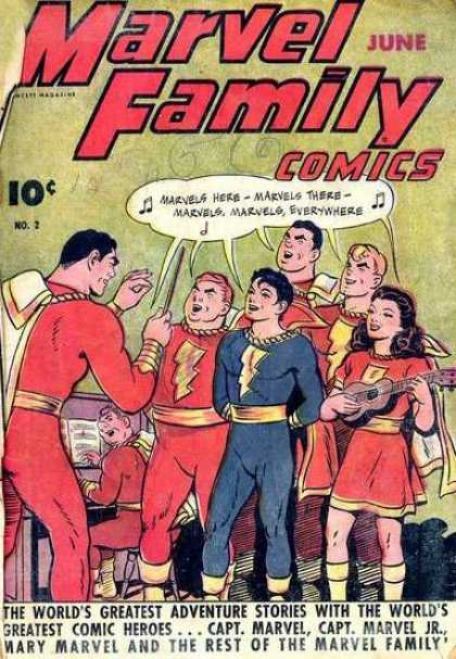 Marvel Family 2 - Conducting - Singing - Choir - Piano - Instruments