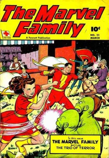 Marvel Family 21