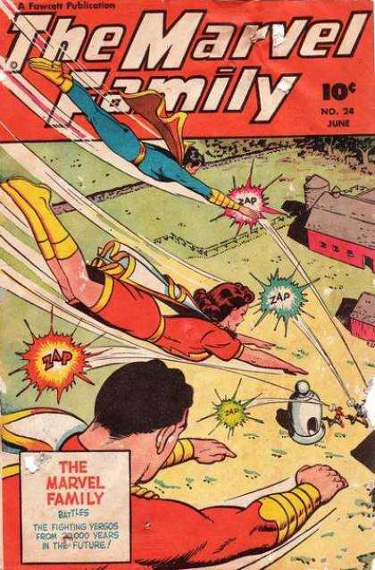 Marvel Family 24
