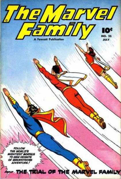 Marvel Family 25