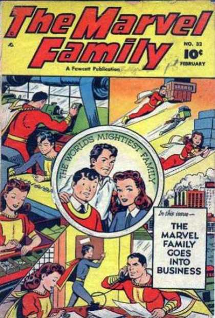 Marvel Family 32