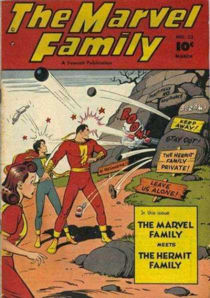 Marvel Family 33 - Clarence Beck