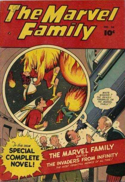 Marvel Family 36