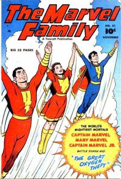 Marvel Family 41