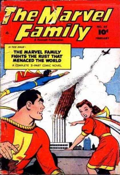 Marvel Family 44 - Marvel - Family - Fly - Cape - Novel