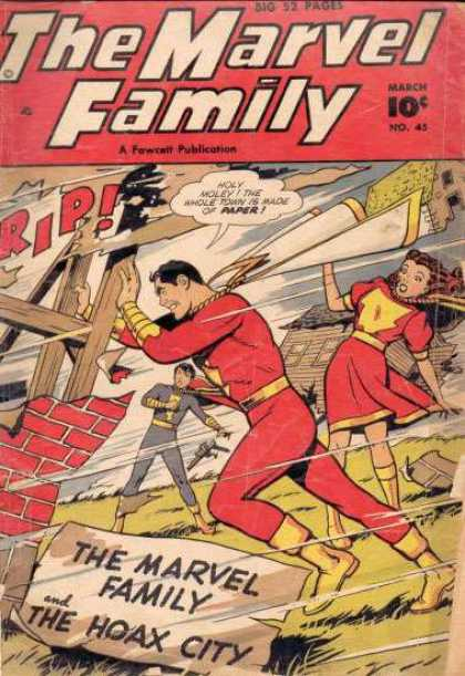 Marvel Family 45