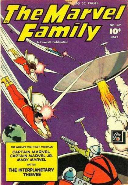 Marvel Family 47 - Fawcett - Publication - Pages - Marvel - Interplanetary