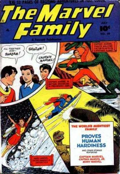 Marvel Family 49 - Monster - Wife - Husband - Heros - Flight
