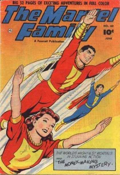 Marvel Family 60 - 52 Pages - Big - No 60 - June - Full Color