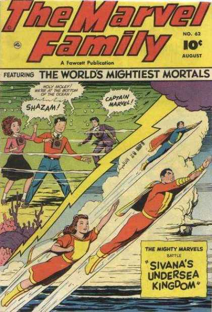 Marvel Family 62