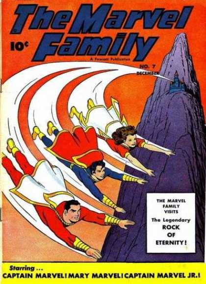 Marvel Family 7 - Marvel - Family - Eternity - Rock - December