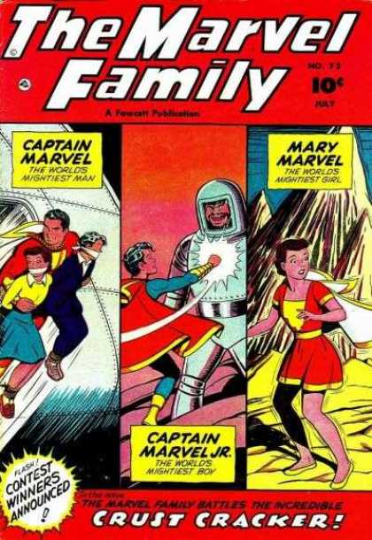 Marvel Family 73