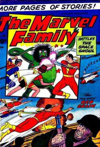 Marvel Family 80