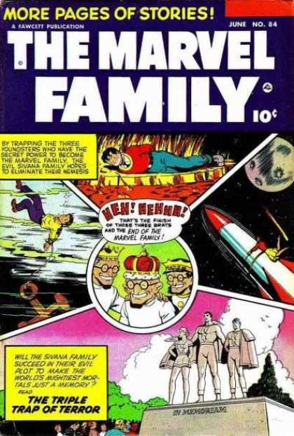Marvel Family 84